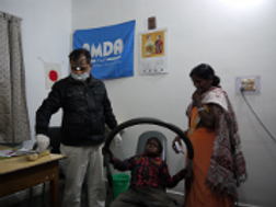 Join AMDA-INDIA Drive for free patient care