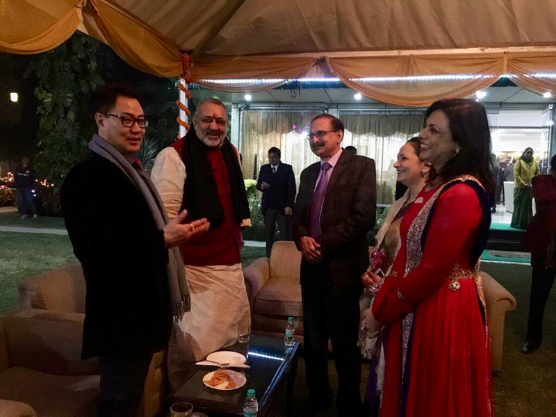 Union ministers of India with Dr Meenakshi Joshi