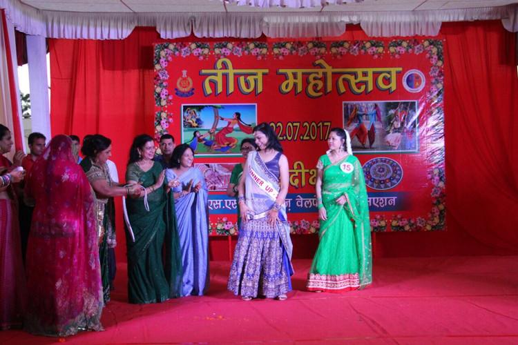 Dr Meenakshi Joshi with Mrs Ajit Doval Mrs Rajnath singh