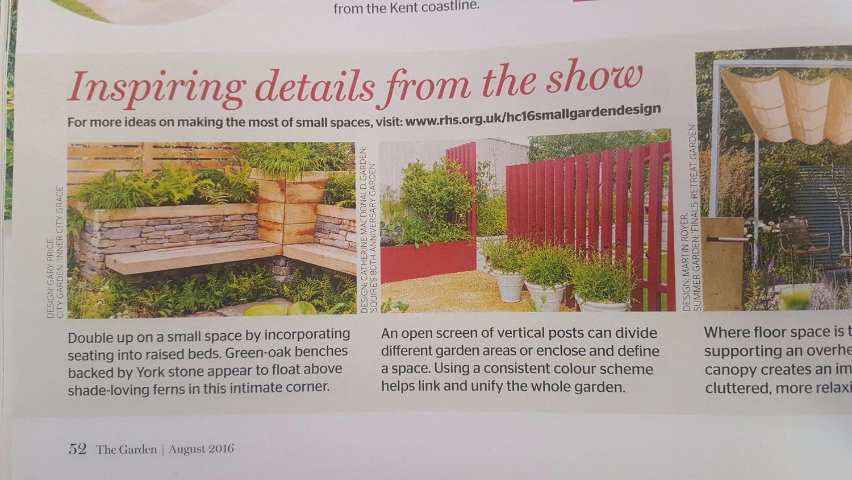 RHS Magazine - The Garden