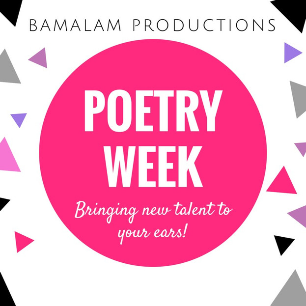 Poetry Week - click to find out more!