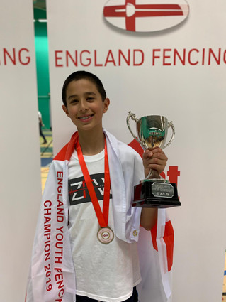 ZFW Fencers Fight to Gold, Silver and Bronze Medals at the England Youth Championships