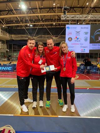 ZFW Cadet Battles to Podium at European Championships