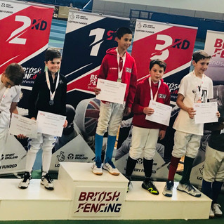 ZFW FENCERS CLAIM SENIOR AND YOUTH BRITISH TITLES
