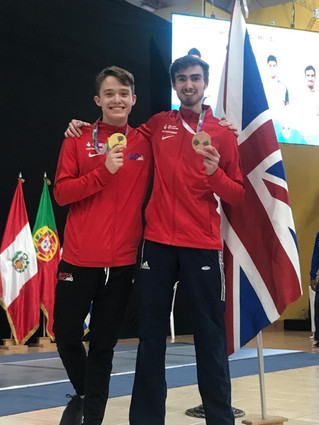 ZFW Fencers Dominate the Podium at Guatemala World Cup