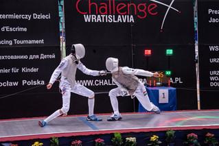 DAVID SOSNOV RISES TO THE CHALLENGE