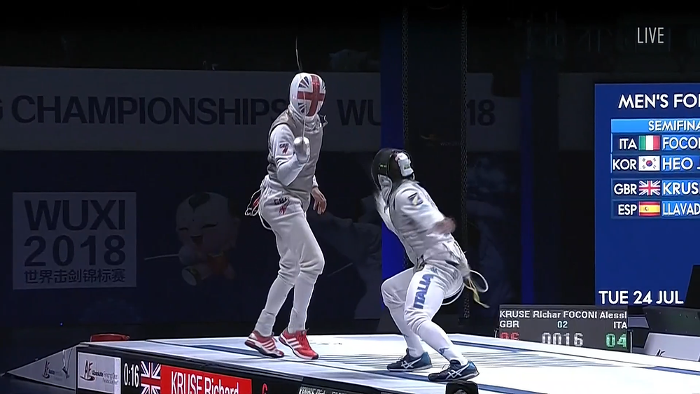 World Championships 2018 - Richard Kruse in the final