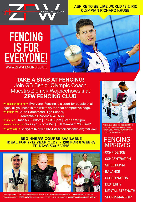 Fencing is for everyone
