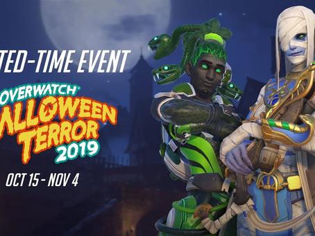 Terror de Halloween em Overwatch já está disponível