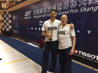 May shines golden for ZFW Fencing Club