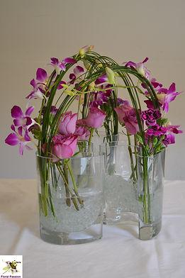 triple boomerang vases table centre.jpg