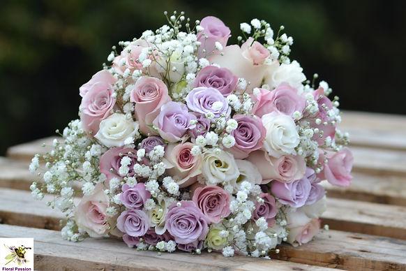 floral passion pastel vintage bouquet of