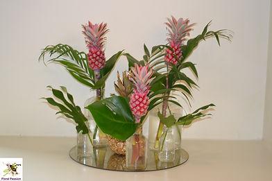 pineapple bud vases table center.jpg
