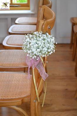 ceremony gypsophilia chair decoration.jp