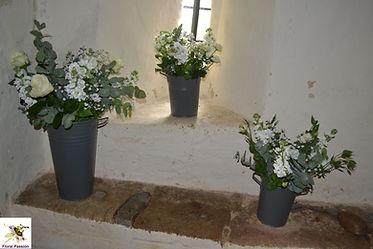 floral passion white grey church windosi