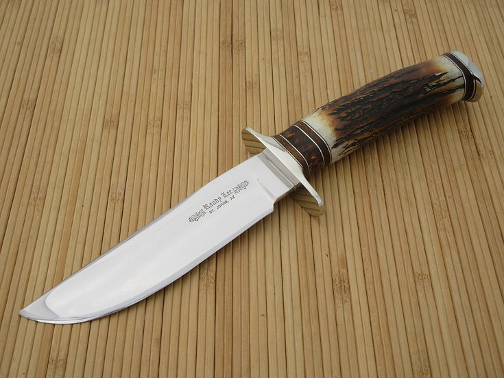 Burnished Stag Gentleman's Bowie/Fighter