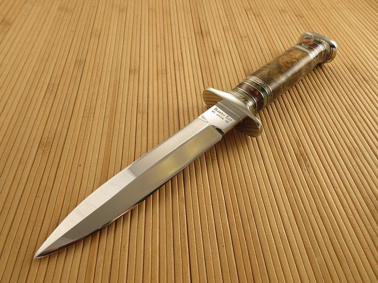 California Buckeye Burl Dagger