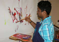 Contemporary expressions through painting