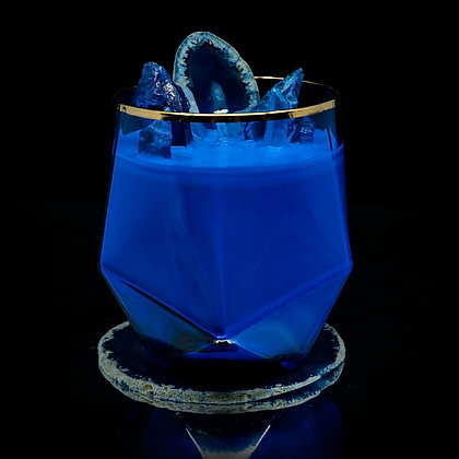 Blue Planet Flamin Wax Soy Candle Gemstone Series