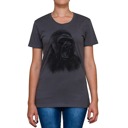 Ladies Going Ape Charcoal T-shirt