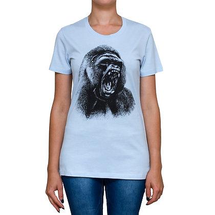 Ladies Going Ape Sky Blue T-shirt