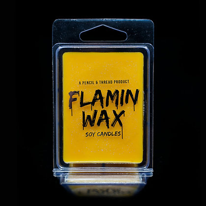Flamin Wax Passionfruit Glitter Soy Melts Tray x 6 cubes
