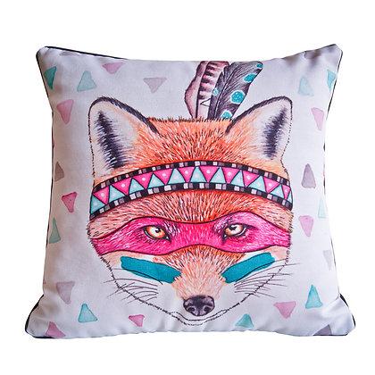 Foxy Indian Cushion