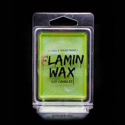 Flamin Wax Sour Patch Lollies Glitter Soy Melts Tray x 6 cubes