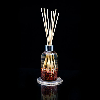 Aussie Bush with Red Jasper Flamin Wax Gemstone Diffuser