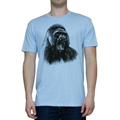 Guys Going Ape Sky Blue T-shirt