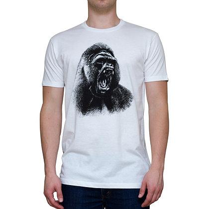 Guys Going Ape White T-shirt