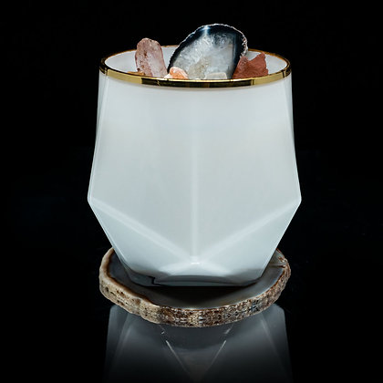 Natural Beauty Flamin Wax Soy Candle Gemstone Series