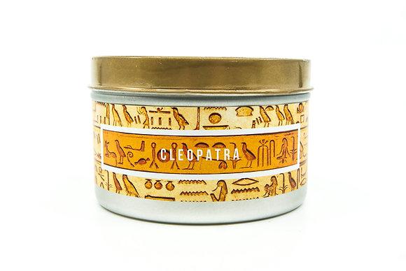 Cleopatra Flamin Wax Soy Candle Tin