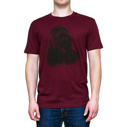 Guys Going Ape Burgundy T-shirt