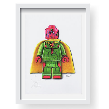 Lego 'Vision' Limited Edition Art Print