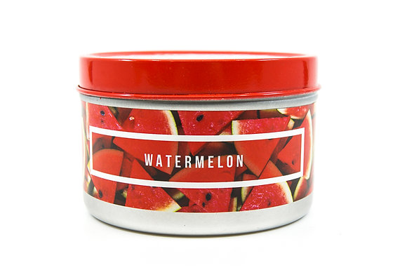 Watermelon Flamin Wax Soy Candle Tin