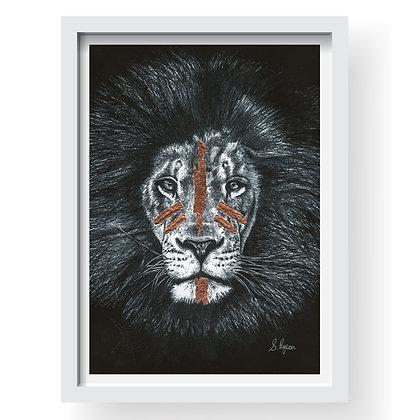 Wild & Free Gilcee Art Print