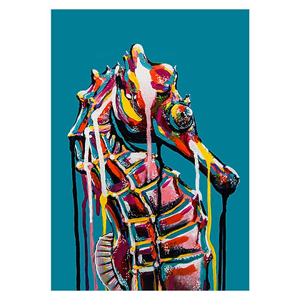 The Horse of the Sea Gilcee Art Print