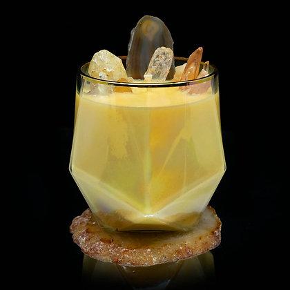 Tropic Cabana Flamin Wax Soy Candle Gemstone Series