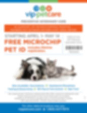 free microchip voucher