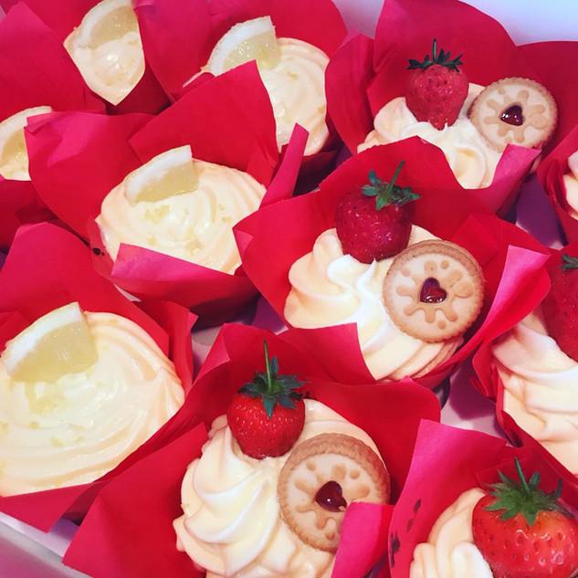 Elderflower & Lemon Cupcakes