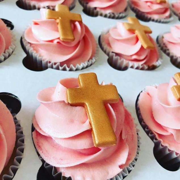 Christening Cupcakes