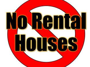 You do NOT want a rental house and here is why!