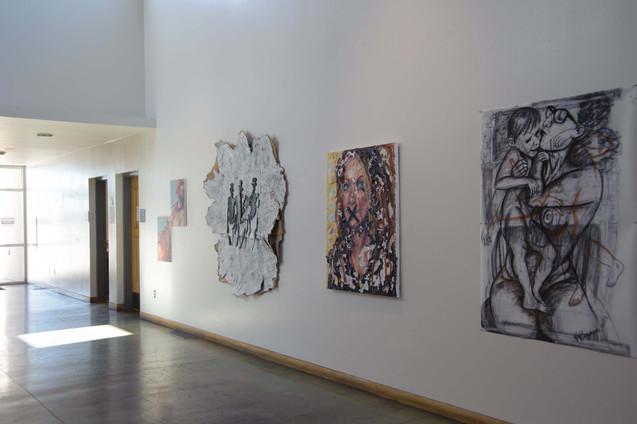 The UNM-Taos Atrium Gallery