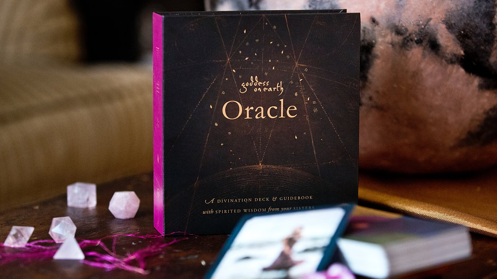 Goddess on Earth ORACLE (Pre-Order Discount)