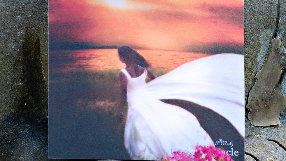 """Altar Card_ 6"""" x 6""""_Kuan Yin"""