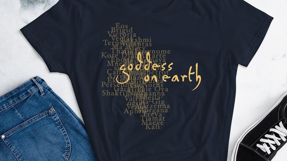 Goddess on Earth T-Shirt
