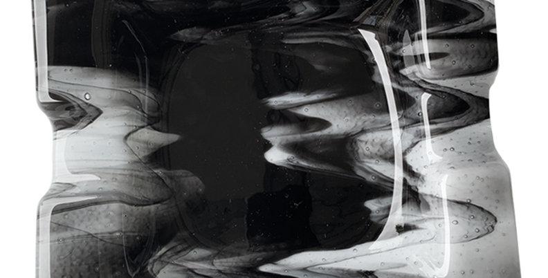 Black Smoky Ashtray - Large