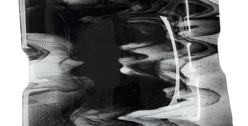 Black Smoky Ashtray -Medium