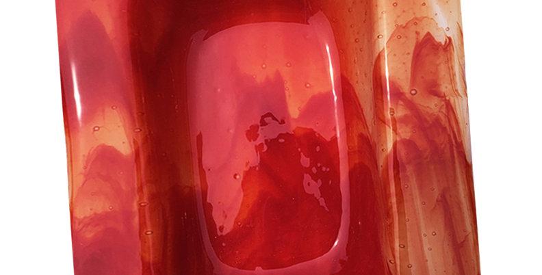 Red Smoky Ashtray - Medium